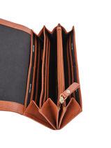 Leather Wallet Secret Sage Burkely Brown secret sage 840960-vue-porte