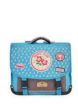 Satchel 1 Compartment Pol fox Blue fille F-CA35