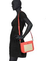 Crossbody Bag Chantaco Leather Lacoste Black chantaco NF2732CE-vue-porte