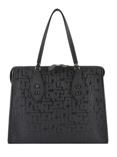 Longchamp La voyageuse lgp Hobo bag Black