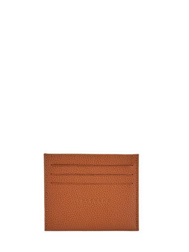 Longchamp Le foulonné Porte billets/cartes Beige