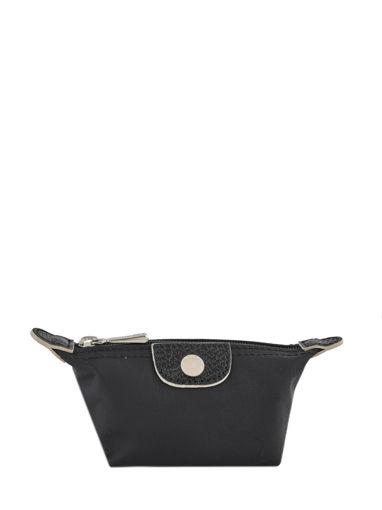 Longchamp Le pliage club Porte-monnaie Noir