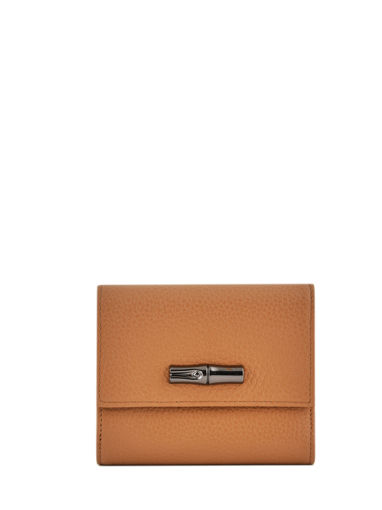 Longchamp Roseau essential Wallet Brown
