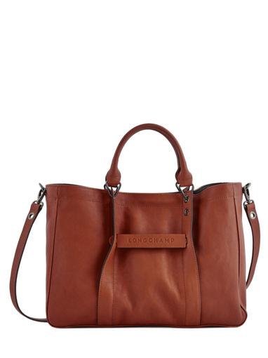 Longchamp Sacs porté main Marron