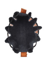 Leather Coin Purse Etincelle Etrier Pink etincelle irisee EETI655-vue-porte