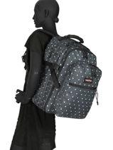 Backpack Tutor 3 Compartments Eastpak Black pbg authentic PBGK955-vue-porte
