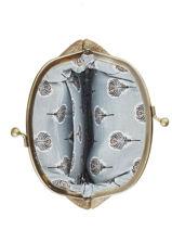 Porte Monnaie Cuir Mila louise Noir vintage 3304S-vue-porte
