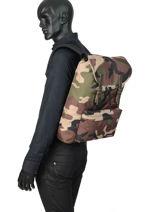 Backpack Eastpak Multicolor pbg authentic PBGK77B-vue-porte