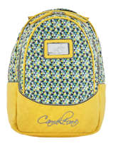 Backpack 2 Compartments Cameleon Yellow retro PBRESD31