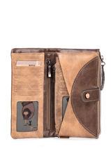 Wallet Arizona Anekke Brown arizona 30709-06-vue-porte
