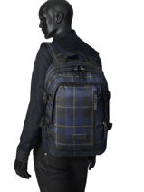 Backpack Volker Eastpak Gray pbg core series PBGK207-vue-porte