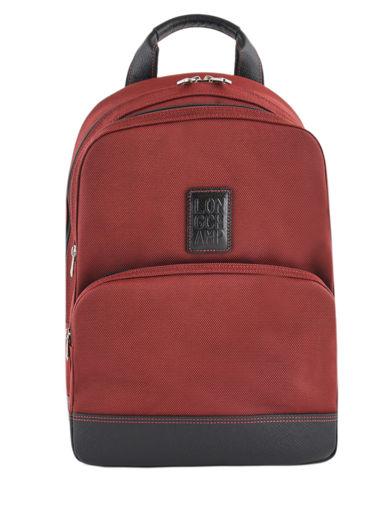 Longchamp Backpacks Red