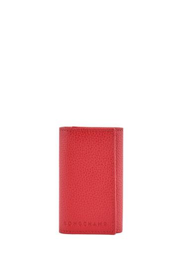 Longchamp Key rings Red