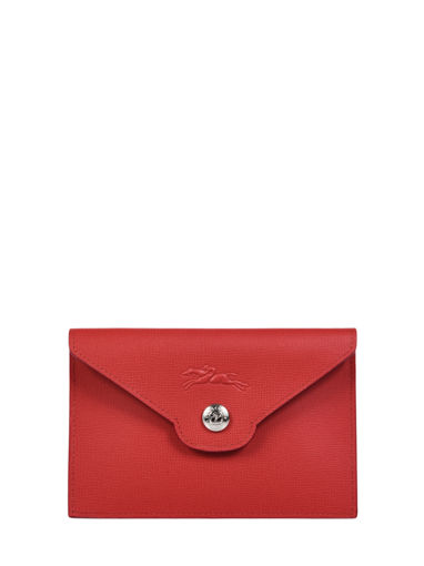 Longchamp Le pliage neo Porte billets/cartes Rouge