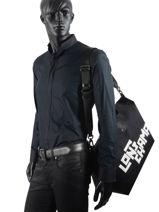 Longchamp Le pliage lgp stamp Travel bag Black-vue-porte
