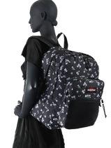 Backpack Pinnacle Eastpak Black K060-vue-porte