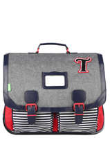 Satchel 2 Compartments Tann's Multicolor les chines 20-41131