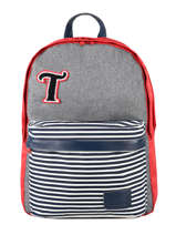 Backpack 2 Compartments Tann