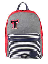 Backpack 1 Compartment Tann's Multicolor les chines 20-62131