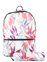 Backpack 1 Compartment With Pencil Pocket Rip curl White frame deal girl LBPCE4