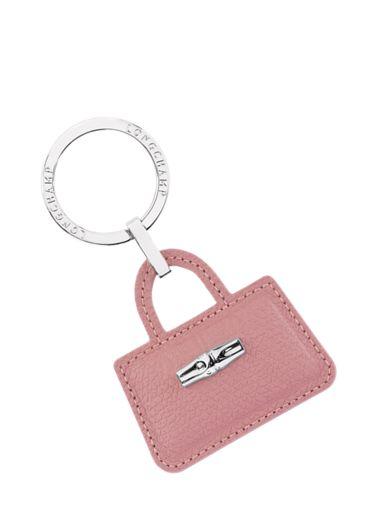 Longchamp Roseau Key rings Pink