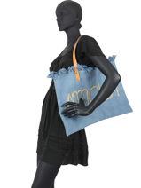 Beach Bag Amour Miniprix Blue amour AMOUR-vue-porte