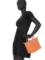 Longchamp Le pliage club Handbag Black-vue-porte