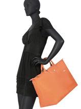 Longchamp Le pliage club Travel bag Black-vue-porte