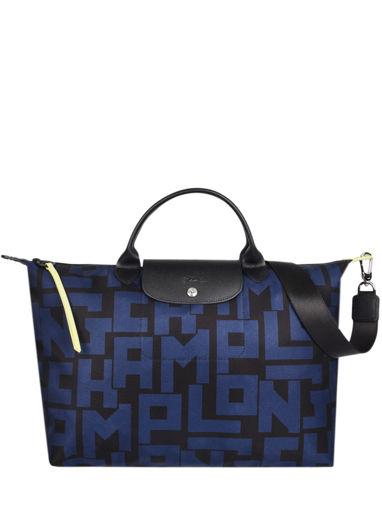 Longchamp Le pliage lgp Sacs porté main Bleu