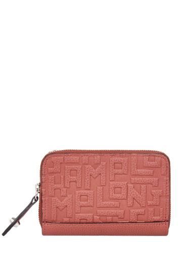 Longchamp La voyageuse lgp Coin purse Orange