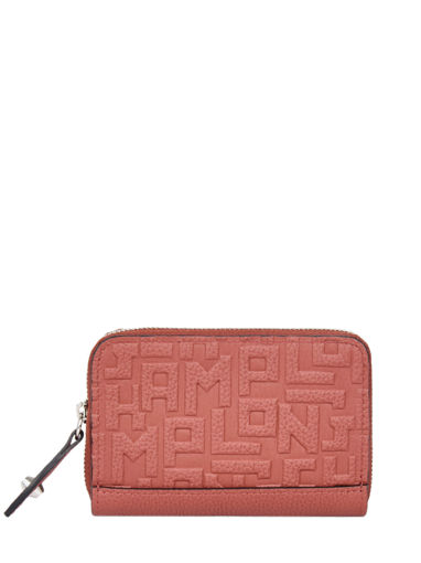 Longchamp La voyageuse lgp Coin purse Red