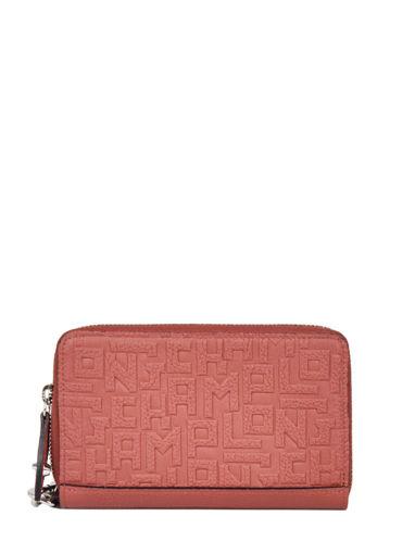 Longchamp La voyageuse lgp Portefeuilles Rouge