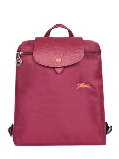 Longchamp Le pliage club Sac à dos Rouge