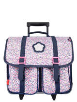 Schoolbag 2 Compartments Kickers Pink premium 691560