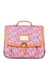 Satchel 1 Compartment Tann's Pink fantaisie fille 35263