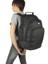 Backpack 2 Compartments Quiksilver Multicolor youth access QYBP35S6-vue-porte