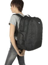 Backpack New Night 2 Compartments Quiksilver Multicolor youth access QYBP35S7-vue-porte
