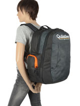 Sac A Dos 2 Compartiments Quiksilver Bleu youth access kids QBBP3041-vue-porte