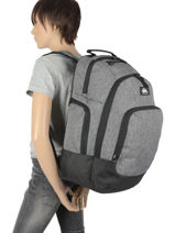 Backpack 2 Compartments Quiksilver Black youth access QYBP35S6-vue-porte