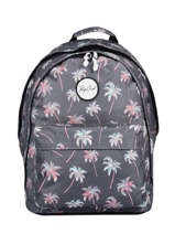 Backpack 2 Compartments Rip curl Blue palmier LBPRN4P1
