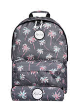 Backpack With Matching Pencil Case Rip curl Blue palmier LBPRO4P1
