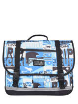Satchel 2 Compartments Rip curl Blue surf BBPBK5SU