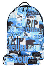 Backpack With Matching Pencil Case Rip curl Blue surf BBPBS5SU