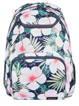 Backpack 2 Compartments Roxy Blue back to school RJBP4157