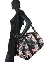 Cabin Duffle Luggage Roxy Black luggage RJBP418-vue-porte