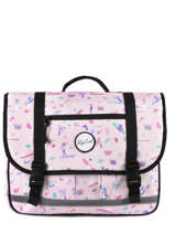 Satchel 2 Compartments Rip curl Pink beach LBPRL4BE