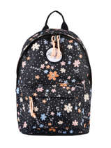 Backpack Mini Rip curl Black floral LBPRP4F2