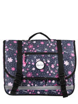 Cartable 2 Compartiments Rip curl Bleu floral LBPRL4F2