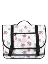 Satchel 2 Compartments Rip curl White palmier LBPRL4P1
