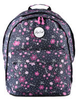 Backpack 2 Compartments Rip curl Blue floral LBPRN4F2